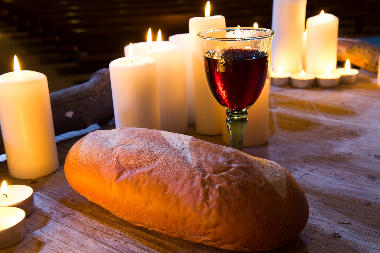 Bread in the form of dismembered parts of the human body